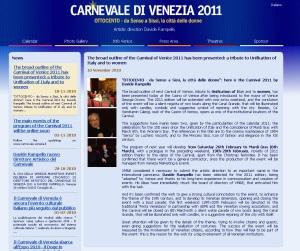 Site Carnevale di Venezia