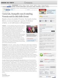 Corriere del Veneto - Article en ligne