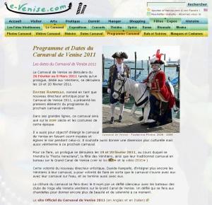Article E-Venise.com