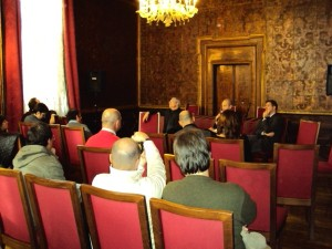 Réunion de presse - Venise 10 novembre