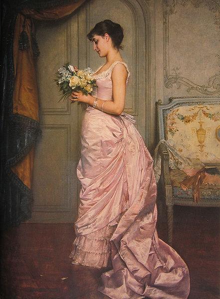 Elle fait une timide apparition à la fin du Second Empire, la robe à tournure a surtout été portée pendant les débuts de la Troisième République,