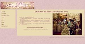 Site Internet du Ministère des Modes
