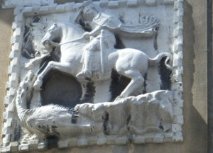 Un autre Saint Georges rencontré un jour à Venise au hasard d'une calle