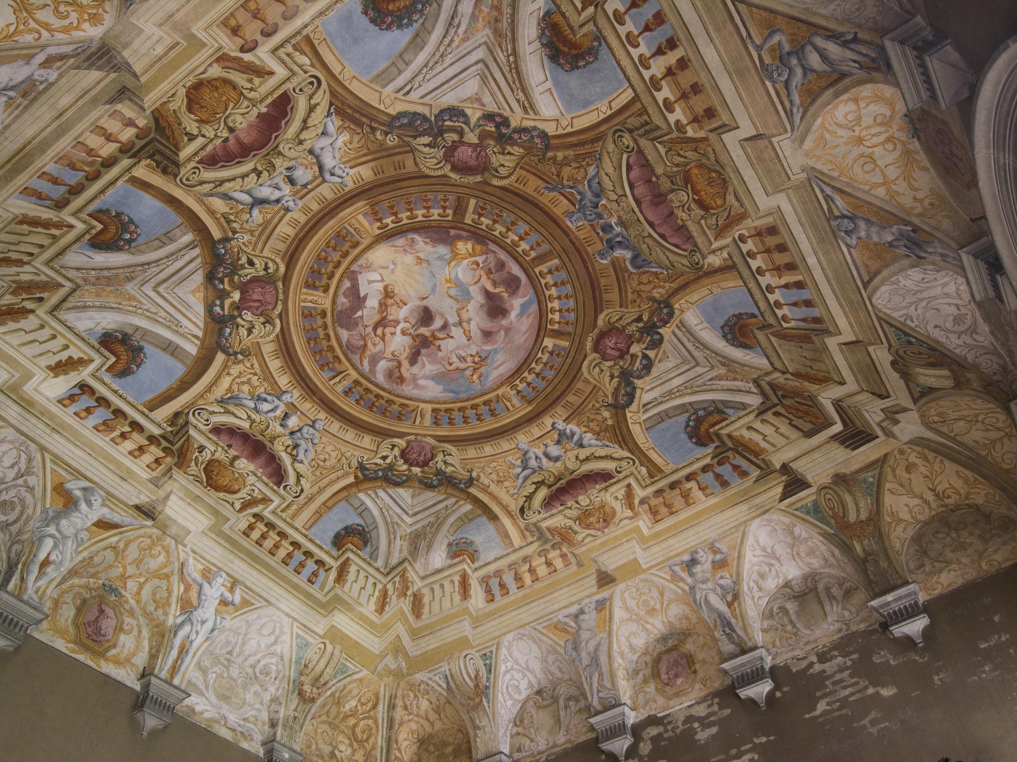 Trompe L Oeil Plafond Plafond Peintures Murales Et Deco Actualit