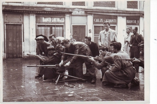25 avril 1945, l'insurrection dans Venise