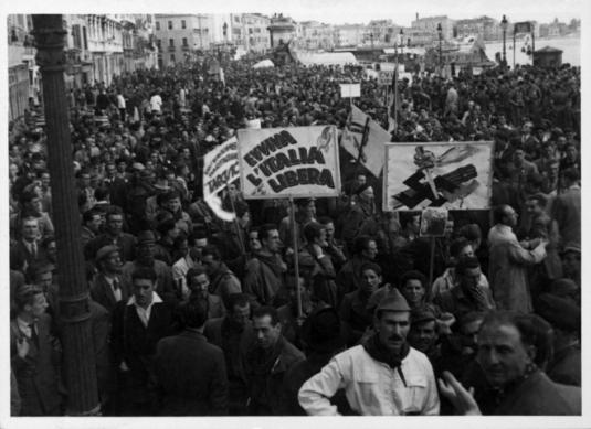 5 mai 1945, libération de Venise