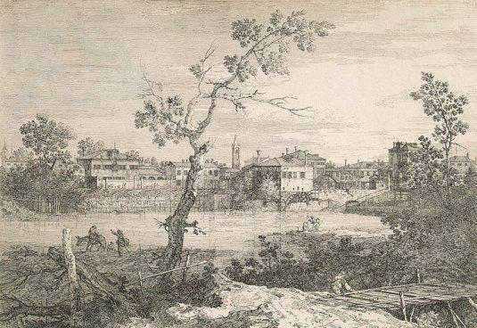 Capriccio avec une vue de Dolo