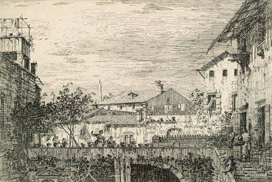 Capriccio avec une terrasse. Padua