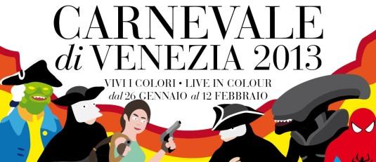 Le Carnaval de Venise 2013 sera le Carnaval de la couleur.   Carnevale-2013