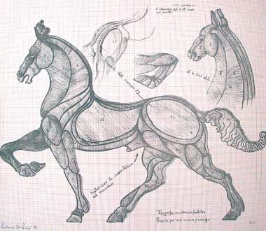 Etudes pour des chevaux - Ludovico de Luigi