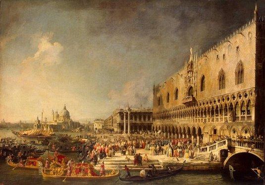 Réception des ambassadeurs français à Venise
