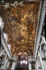 Plafond de l'église San Pantalon ou San Pantaleone