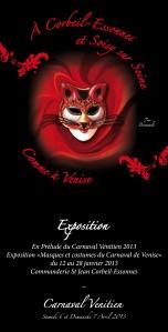 Masques et Costumes de Venise - exposition Corbeil-Essonnes