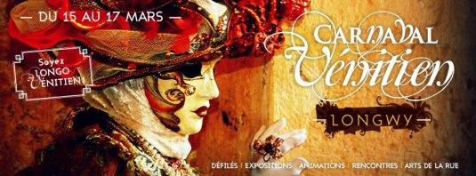 Carnaval vénitien de Longwy - Flyer