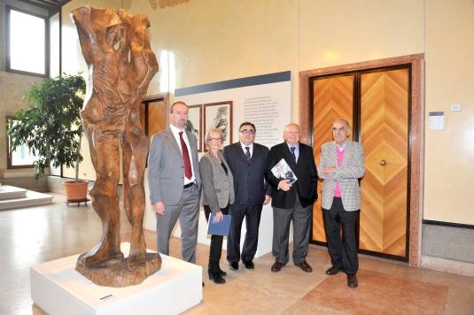 l'opera di Murer in mostra a Palazzo Ferro Fini di Venezia fino al 15 febbraio 2013