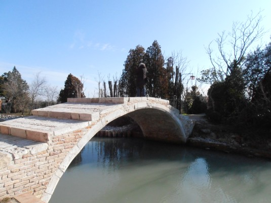 Le Pont du Diable à Torcello