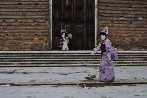 Les aventures des geishas à Venise