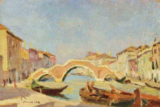 Ponte dei Tri Archi par Silvio Casagrande