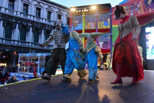 Daria et Platon au Carnaval de Venise