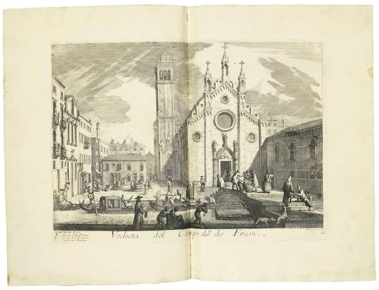 LOVISA, Domenico (ca. 1690-ca. 1750). Il Gran Teatro delle piú insigni prospettive di Venezia.