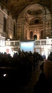 """Inizia il concerto """"Sul Danubio Blu"""" nella chiesa di Santa Maria dei Miracoli"""