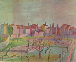 Orti e case a Burano 1954