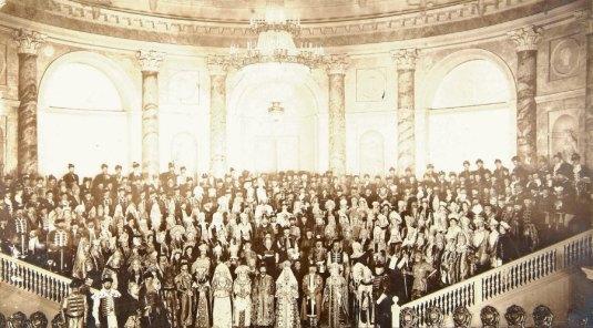 Le grand bal à la Cour de Russie. Saint-Pétersbourg, 11-13 février 1903