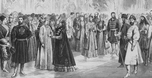 Le bal de 1883 à la cour de Russie