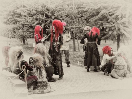 Yoyogi Park Cosplay