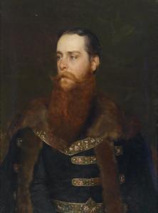 Bildnis Arthur Graf Berchtold (1843-1902),  Eugen von Blaas - 1882