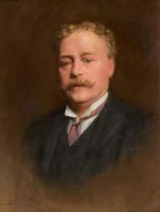 Henry Woods (1846–1921), par Luke Fildes - Warrington Museum & Art Gallery