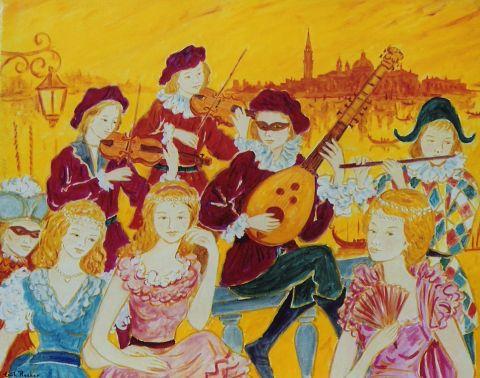 Emile Rocher - Carnaval a Venise les musiciens poetes