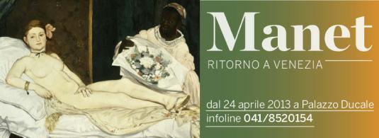2 Manet Ritorno a Venezia a cura di Stéphane Guégan