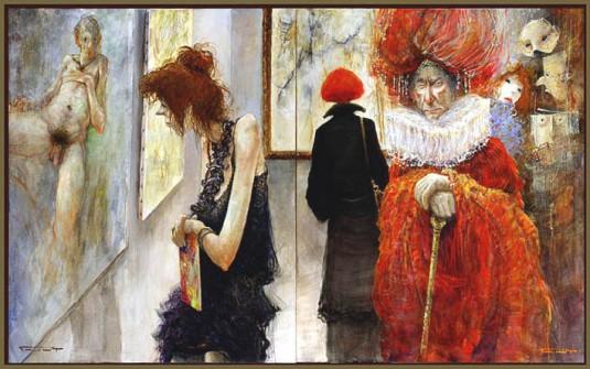 Momo tentant de comprendre quelque chose à l'art - Marcel Pajot