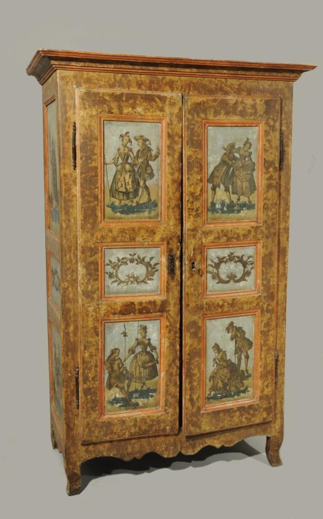 Les meubles laqu s v nitiens du xviii me si cle olia i klod for Decoration meuble peint