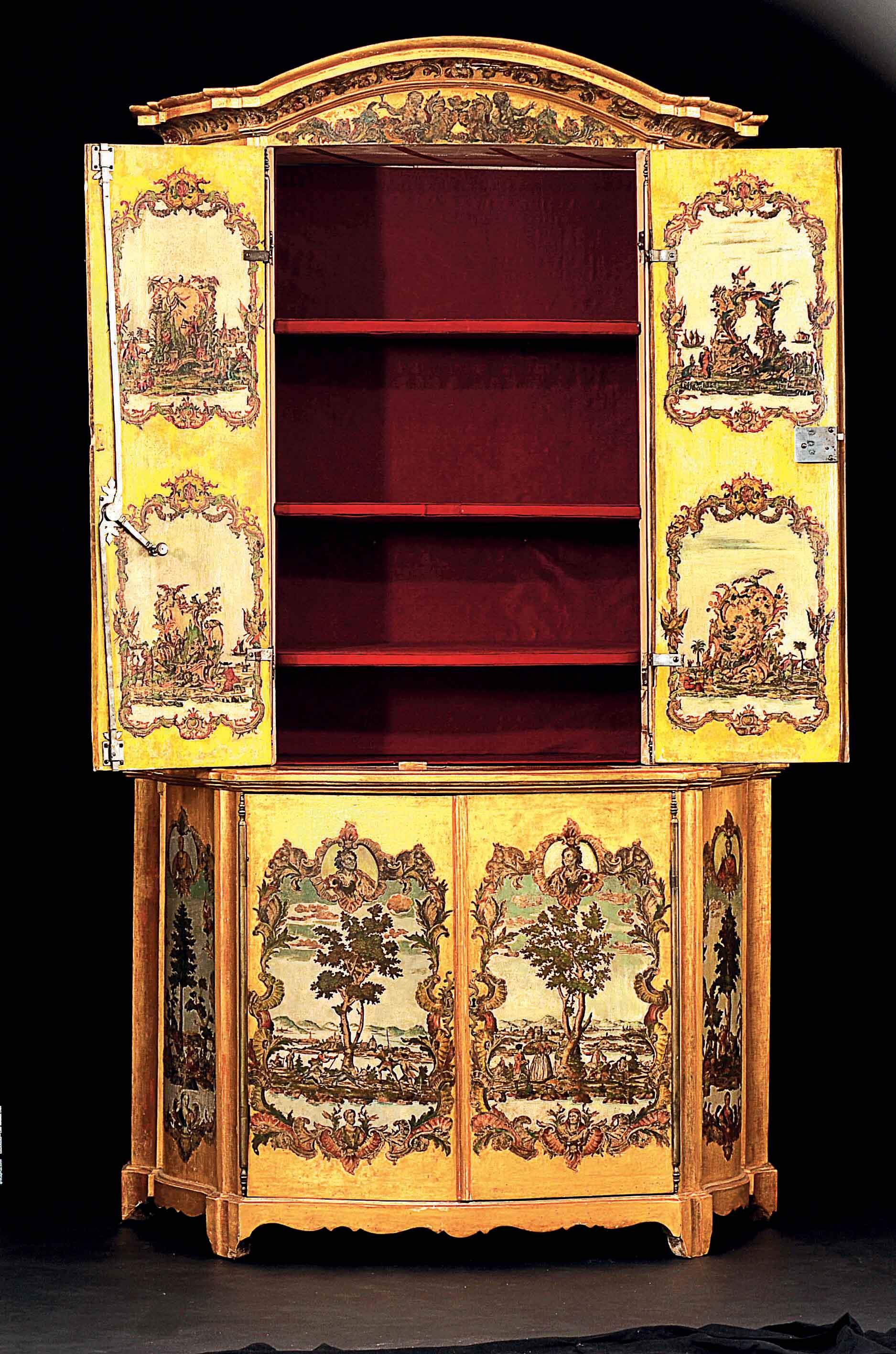 Les meubles laqu s v nitiens du xviii me si cle olia i klod for Meubles italiens contemporains