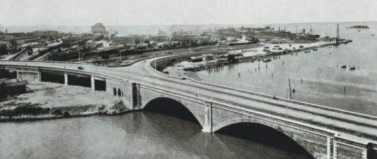 Ponte Littorio en 1933