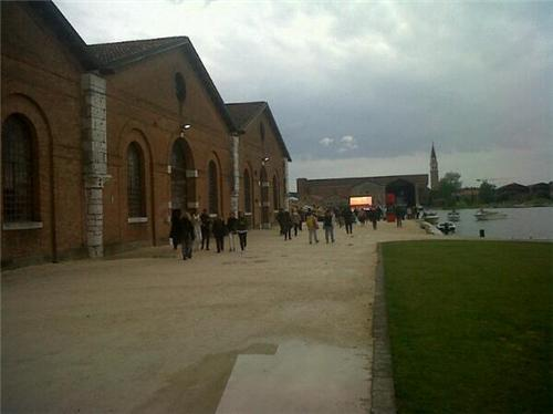 Innauguration de la Biennale 2013 à l'Arsenale di Venezia