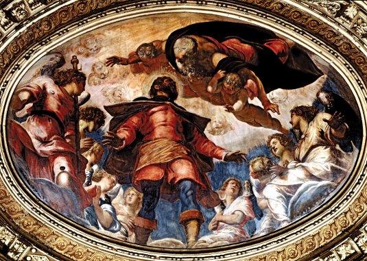 Glorification de Saint-Roch