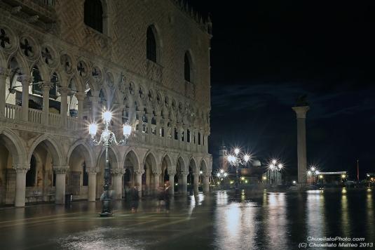 Acqua alta du 23 mai 2013 à Venise - photo Chinellato Matteo