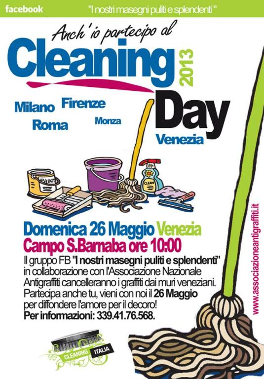 Cleaning Day : dimanche 26 mai 2013
