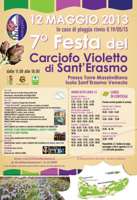 Festa del Carciofo Violetto di Sant'Erasmo 2013