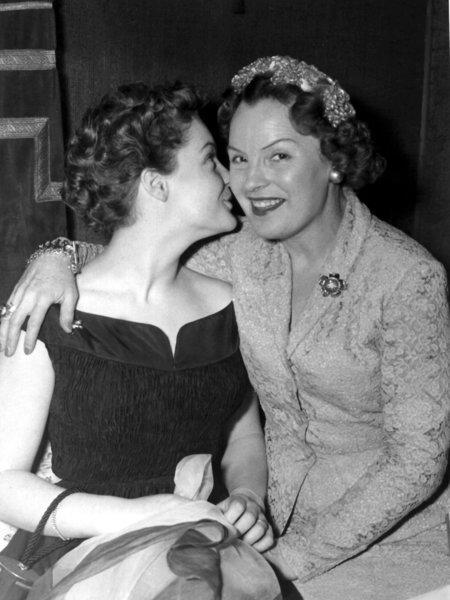 Romy et Magda à Venise en 1957