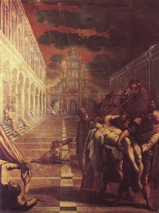 Enlèvement du corps de Saint-Marc