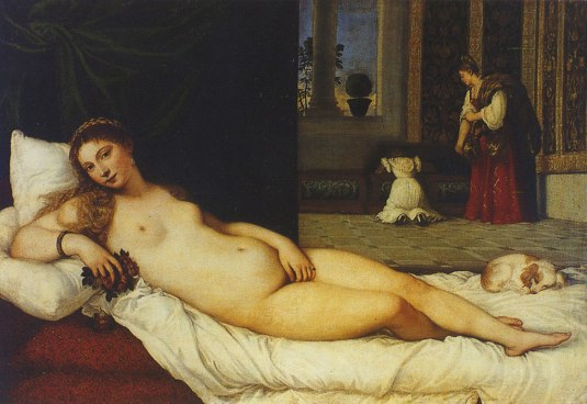 Vénus d'Urbino du Titien