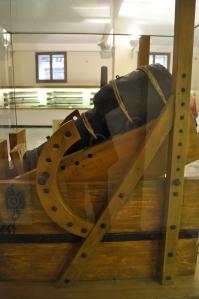 Rare Bombarde de 6 livres qui fut employée pendant le guerre de Chioggia