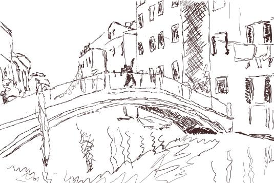 Ponte Santa Ana, Castello