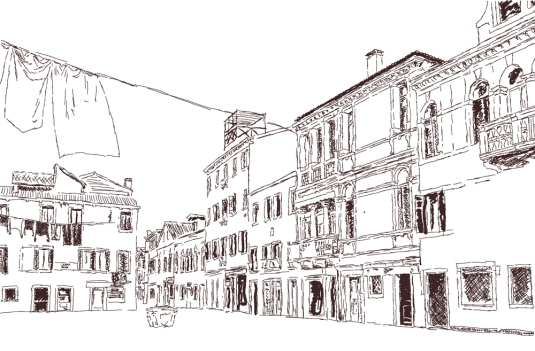 Campo Ruga, Venise