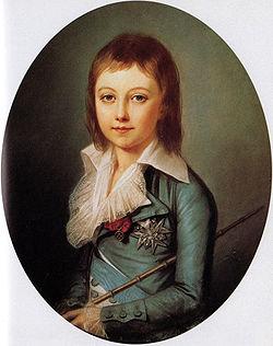 Louis XVII, dauphin et roi de France par Alexandre Kucharski