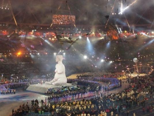 Alison Lapper Pregnant aux JO paralympiques